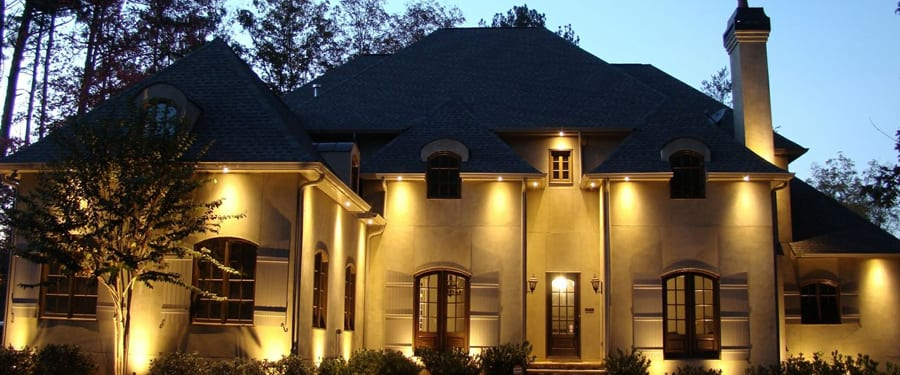 residential outdoor lighting nightvision lighting