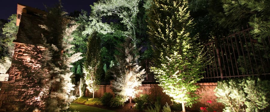 landscape lighting Atlanta