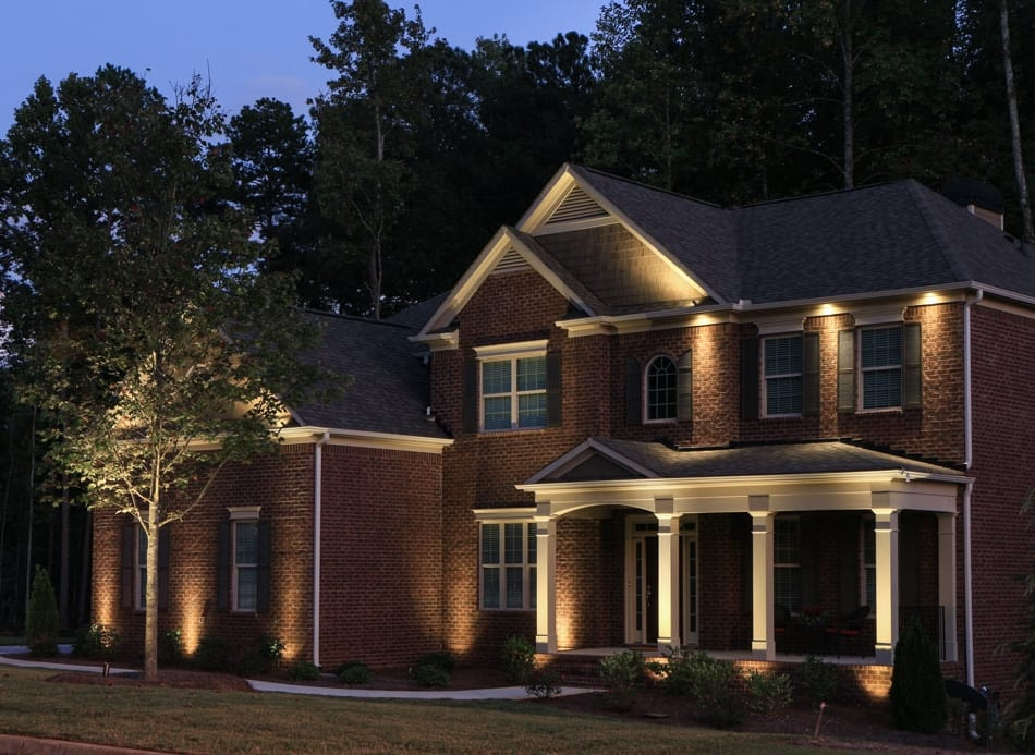 boosting curb appeal with exterior lighting in atlanta nightvision