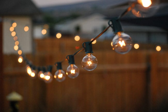 Beautiful Creating A Romantic Setting This Valentineu0027s Day With Outdoor String  Lighting