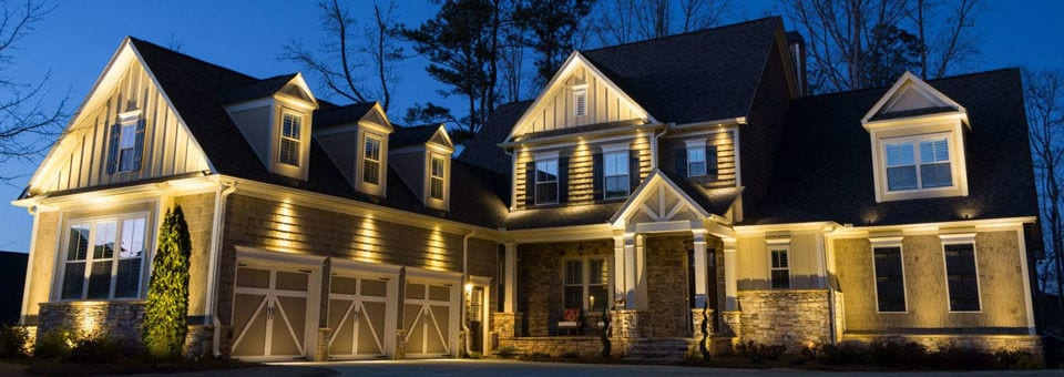 Boosting your home 39 s value with professional outdoor lighting Exterior accent lighting for home