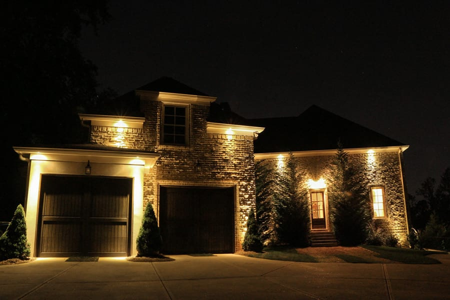 The dos and donts of installing an outdoor lighting system outdoor security lighting aloadofball Images
