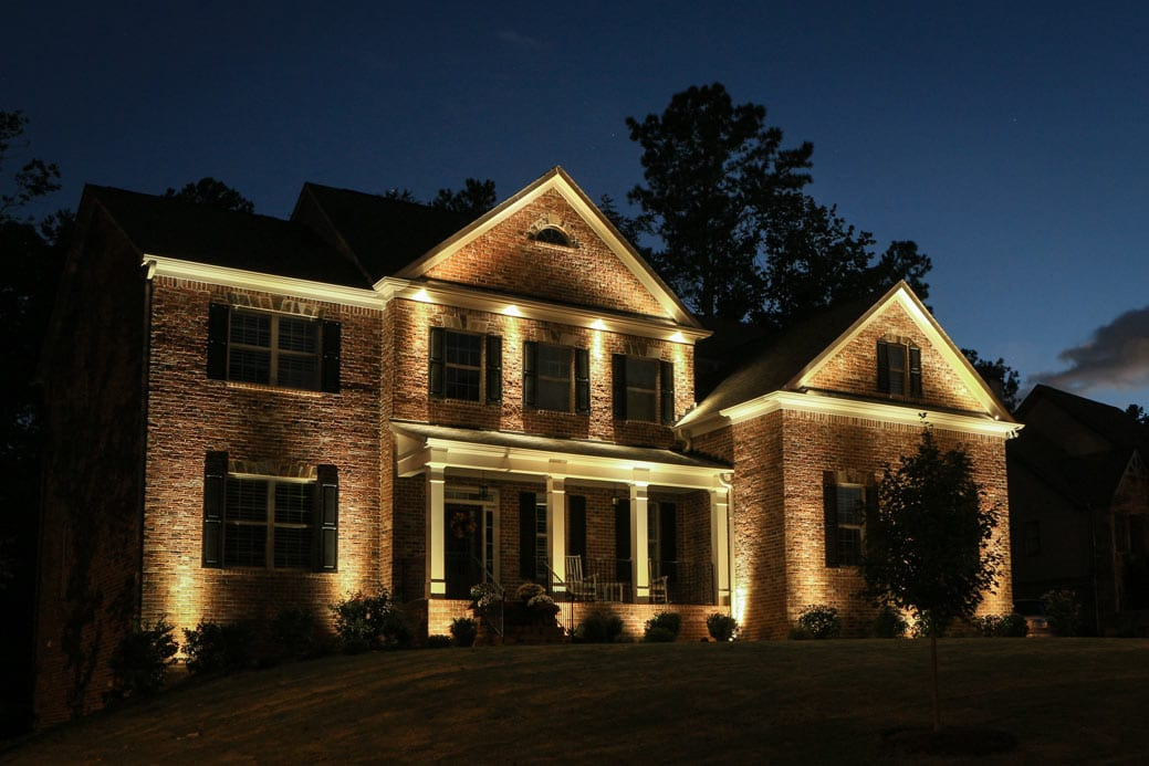 Exterior accent lighting for home 8 effective beautiful Exterior accent lighting for home