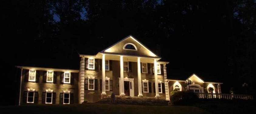 Why hire an outdoor lighting company in atlanta this summer nightvision outdoor lighting Exterior accent lighting for home