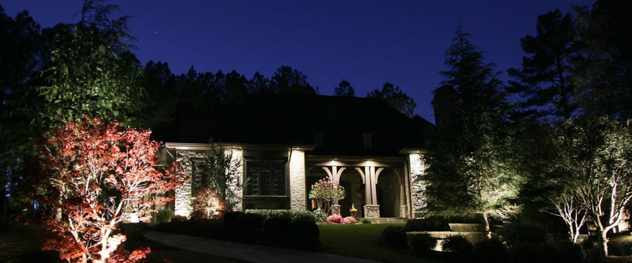 How To Be Creative With Exterior Lighting