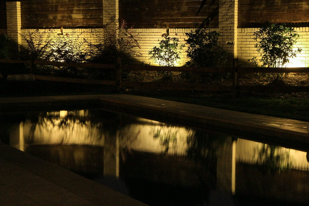 Adding outdoor lighting to your swimming pool area aloadofball Gallery